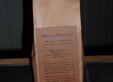 Husets Espresso - Kaffebrenneriet