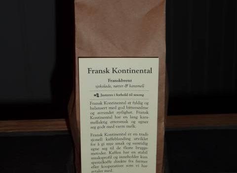Fransk Kontinental - Kaffebrenneriet