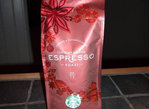 Starbucks espresso Juleblanding