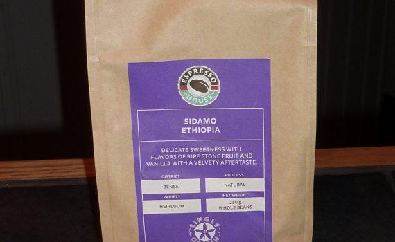 Espresso house S&H Sidamo Ethiopia