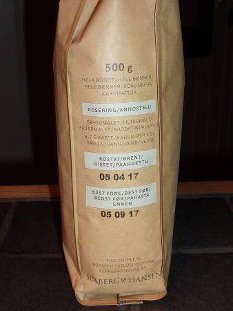 House Blend Espresso S&B